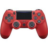 PS4コントローラー DualShock 4 プレイステーション4 / Pro / Slim / PCおよびモーションモーターとオーディオ機能、ミニLEDインジケーター、USBケーブル、滑り止め付きラップトップ用ワイヤレスゲームパッド