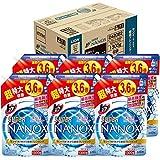 【ケース販売 大容量】トップ スーパーナノックス 洗濯洗剤 液体 詰め替え 超特大1300g×6個