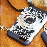 (ミリアンデニ)mili an deni カメラ型 iphoneケース iPhone6用 ストーンブラック