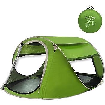 G4Free 軽量ポップアップ テント サンシェード ワンタッチ 1秒展開 2-3人 UV紫外線カット メッシュ四面 防撥水 自動設置 キャンペーン 登山 海水浴 キャンプ アウトドア