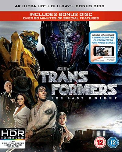 トランスフォーマー/最後の騎士王 (4K UHD + Blu-Ray リージョンフリー 日本語あり)(Import版)