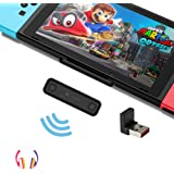 Gulikit Nintendo Switch Bluetoothオーディオアダプター Route Air Pro ニンテンドースイッチブルートゥースイヤホンBluetoothトランスミッター Nintendo Switch PS4 Switch l