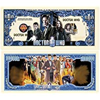Set of 10 - Limited Edition Doctor Who Collectible Million Dollar Bill by American Art Classics [並行輸入品]