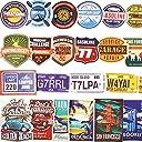 JIN SELF ステッカー【100枚セット】 トラベル 旅行 ステッカー シール アメリカン レトロ ビンテージ スーツケース 防水紙 B