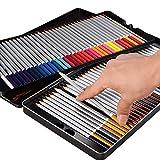 XPASSION 水溶性 色鉛筆 72色 鉛筆削り付き メタルケース 日本語説明書付き