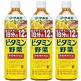 伊藤園 ビタミン野菜 930g×3本