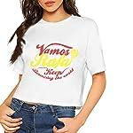 Women's Vamos Rafa Short Sleeves Lumbar Tshirts