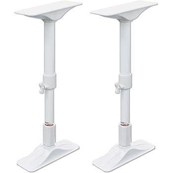 平安伸銅工業 家具転倒防止突っ張り棒 ホワイト 取付高さ50~75cm REQ-50