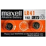 maxell ボタン電池 LR41 (2個)