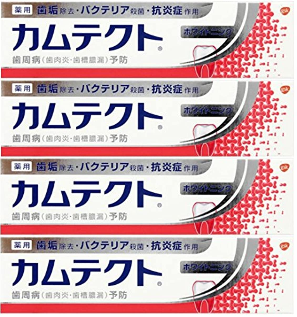 ルートガード錫【まとめ買い】カムテクト ホワイトニング 歯周病(歯肉炎?歯槽膿漏) 予防 歯みがき粉 105g×4個