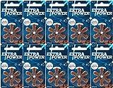 EXTRA POWER 【2019年最新モデル】補聴器用空気電池 PR41(312) 10パック(60粒入り) 高品質 ドイツ製 環境に優しい水銀0 シバントス