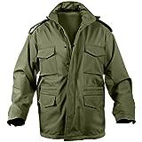 Rothco Soft Shell Tactical M-65 Jacket(ロスコ ソフトシェルM-65ジャケット) (M, オリーブドラブ)