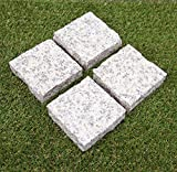 Amazon.co.jp桜御影石 板石 バーナー ピンコロ 石材(1個入り) ガーデニング 板石 舗石