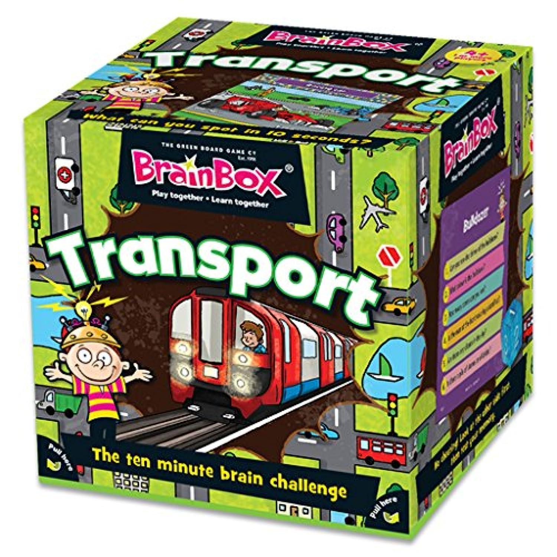 ブレインボックス 英語 カードゲーム 乗り物編 Transport