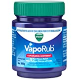 Vicks VapoRub Decongestant Chest Rub, 100g