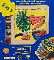 beleduc 5 Layer Carrot Puzzle [並行輸入品]