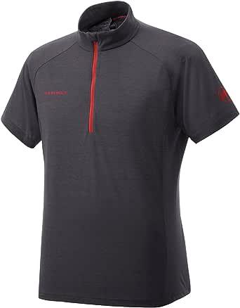 [マムート] パフォーマンス ウール ジップ Tシャツ 1041-08580 メンズ graphite EU M-(日本サイズL相当)