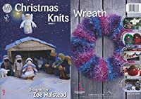 King Cole Christmas Knits Book 3 - Nativity Scene Festive Xmas Decorations Tea Cosy & Garland by King Cole