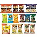 【 アマノフーズ フリーズドライ 】 セレクトBOX スープ セット 12種類 21食[ フリーズ ドライ ねぎ 5g 付き ]