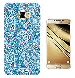 002743 - Blue Paisley Pattern Design Samsung Galaxy C5 (5.2
