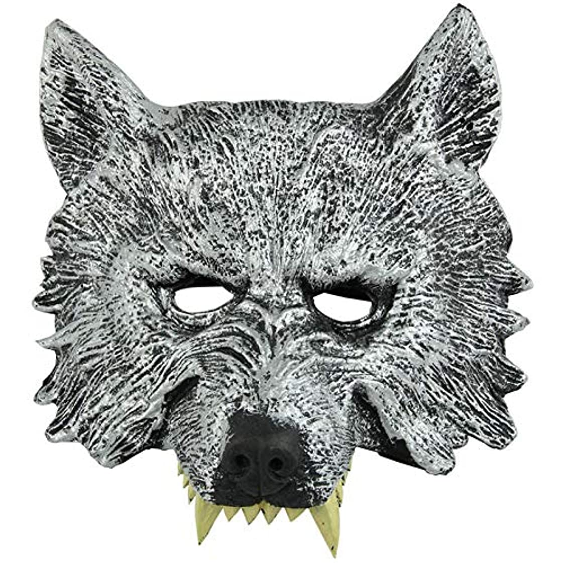 間湿気の多い衰えるオオカミヘッドマスク全身小道具ホリデー用品仮面舞踏会マスクハロウィンマスク