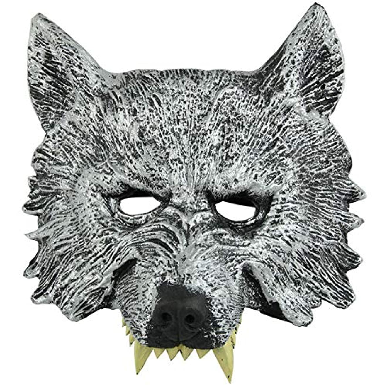 傑出した打たれたトラック一人でオオカミヘッドマスク全身小道具ホリデー用品仮面舞踏会マスクハロウィンマスク