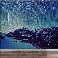 Weaeo 3D抽象的な星空の壁紙壁画の壁紙壁画壁紙の壁画-200X140Cm