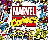 Marvel Comics Official 2018 Desk Block Calendar - Page-A-Day Desk Format (Desk Block Calendar 2018)