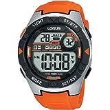 Lorus Men's Digital Quartz Watch with Silicone Strap R2303NX9