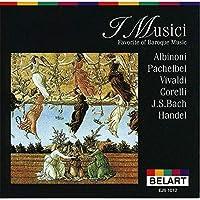 CD I Musici(イ・ムジチ) Favorite of Baroque Music アルビノーニのアダージョ EJS-1012 【人気 おすすめ 通販パーク】
