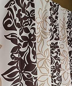 2級遮光フラエレガンスドレープカーテン100×110cm【2枚入り】ベージュ