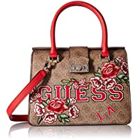 GUESS womens Vikky Small Satchel