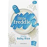 Little Freddie Organic Simply Baby Rice (2 Pack), 160 g,12.6 x 5.7 x 20 cm,blue