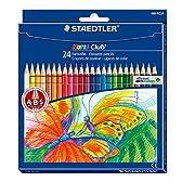 ステッドラー ノリスクラブ色鉛筆(六角軸)24色セット 144 NC24