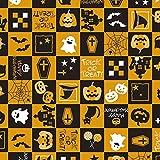 タカ印 ラッピングペーパー 49-3922 ハロウィン 10枚巻ロール