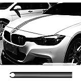 Birdlantern車のボンネットボンネットレーシングストライプラインデカールエンジンカバーステッカー用BMW E46 E36 E90 F30 F31 F34 E39 F60 F10 F11 F07 G30
