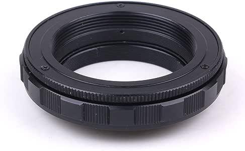 (バシュポ) Pixco M42 マイクロフォーサーズ レンズ焦点調整式ヘリコイドマクロチューブアダプター 12mm-19mm (M42-Micro 4/3)