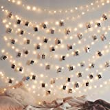 LED String Lights 8 Modes 200 LEDs Twnikle Fairy Lights Waterproof Dimmable USB Powered Firefly String Lights with Remote Con