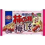 亀田製菓 亀田の柿の種梅しそ6袋詰 182g×12袋