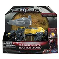 Power Rangers - Dino Zord With 5cm Figur - Sabertooth Battle Zord [並行輸入品]