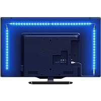 Lepro LED テープライト RGB テレビバックライト 0.5Mx4本 間接照明 5050SMD USB式 RFリ…