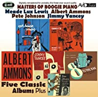 Masters of Boogie Piano: Five Classic Albums Plus by Meade Lux Lewis (2013-07-31)
