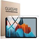 Galaxy Tab S7 フィルム Freesun 日本旭硝子製 硬度9H Galaxy Tab S7 SM-T870/T875 ガラスフィルム 11インチ 2.5D ウンドエッジ加工 強化ガラス 高透過率 耐指紋 自動吸着 撥油性 保護フィルム
