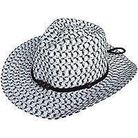 (ビグッド) Bigood 赤ちゃん ベビー 帽子 子供 ハット カウボーイハット ストローハット 麦わら帽子 つば広ハット キッズサンバイザー UVカット 日焼け防止