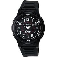 [シチズン Q&Q] 腕時計 アナログ 防水 ウレタンベルト VP84-854 メンズ ブラック