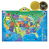 Best Learning i-Poster My USA Interactive Map [並行輸入品]