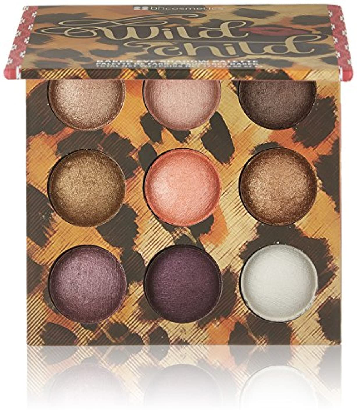 白い突破口ベルBH Cosmetics Wild Baked Eyeshadow Palette Wild Child (並行輸入品)