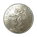 メキシコオリンピック 記念硬貨 25ペソ 銀貨 1968年