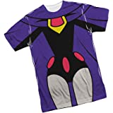 Cartoon Network Raven - Teen Titans Go! All-Over Front Print Sports Fabric T-Shirt