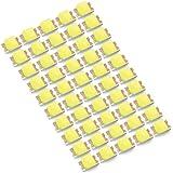 INEX LEDチップ SMD 2012 (インチ表記0805) ホワイト 白発光 50個 打ち替え 打ち換え DIY 自作 エアコンパネル メーターパネル スイッチ